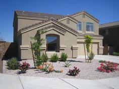 desert landscaping ideas for front yard | Design Through the Decades - Phoenix, Arizona - 2000s Landscaping