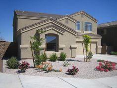 Front yards, Dry creek bed and Yards on Pinterest