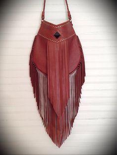 Aurora Fringe Bag by nativerainbow on Etsy