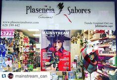#Repost @mainstream_can with @repostapp. ・・・ Nuestras queridas amigas de @plasenciasabores han colgado en una de sus tiendas nuestra portada de Octubre-Noviembre en la que les realizamos una cariñosa entrevista. Muchas gracias chicas ❤ #MainstreamCanarias #cool #fashion