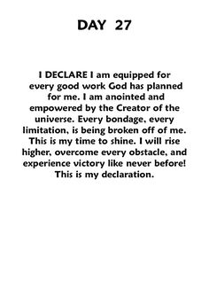 """In the Name of Jesus Christ and to the Glory of Father God of Israel, i Declare this! ~ Book: """"Declare,"""" joel osteen."""