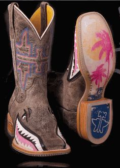 LADIES Tin Haul NARLY SHARK boot!  Reg. $310.00 ON SALE for $280.00!!