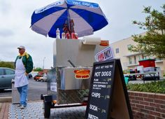Move over, New York, downtown Waco has arrived. As of this week we have a hot dog cart, making it easy for downtown folks to get a quick lunch on the...