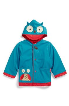 Skip+Hop+'ZOO'+Owl+Raincoat+(Toddler+&+Little+Kid)+available+at+#Nordstrom