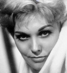 Kim Novak - [ Hitchcock had a talent for picking leading ladies who would make me (and every other male over the age of 9) drool and sweat. She had a talent for expressing emotions without words. I was amazed that she could look exotic, sexy, or vulnerable just by changing her facial expression. - PSC]