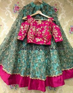 Net Weave Fancy Crop Top Lehenga Choli Buy Online Designer Collection, :Call/ WhatsApp us 77164 . Kids Blouse Designs, Choli Designs, Lehenga Designs, Saree Blouse Designs, Indian Designer Outfits, Indian Outfits, Kids Lehenga Choli, Kids Frocks Design, Kids Lehanga Design