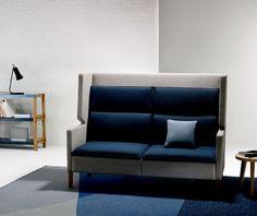 Home 1 High Back Lounge Office Sofa, Office Furniture, Sofa Design, Interior Design, Sofa Home, Image House, Solid Oak, Upholstery, Lounge