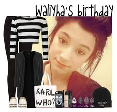 """""""Happy birthday Waliyha! """" by faanfic-1d ❤ liked on Polyvore"""