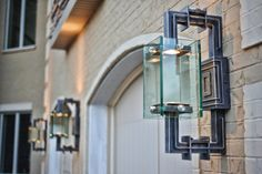 Solara custom manufactures decorative gas lanterns for outdoor use, as well as electric lighting for both indoor and outdoor use. Custom Lighting, Lighting Design, Gas Lanterns, Gas And Electric, Wrought Iron, Old World, Wall Sconces, Beautiful Homes, Indoor