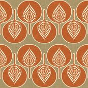 tree_hearts_linen_rustic fabric by holli_zollinger, click to purchase