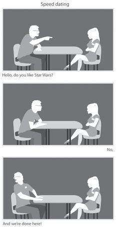 Geek Speed Dating. #hilarious