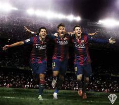 Suarez, Neymar, Messi