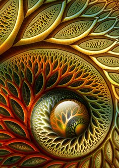 Fractal art. is so enchanting and there are no two alike...