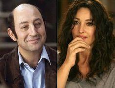 Kad Merad et Monica Belluci en couple dans Des gens qui s'embrassent.