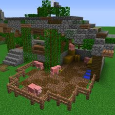 Jungle Butcher House - GrabCraft - Your number one source for MineCraft buildings, blueprints, tips, ideas, floorplans!