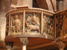 Medieval, 12th Century, Dark Fantasy, Planet Earth, Archaeology, Lion Sculpture, Italy, Statue, Architecture