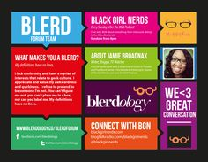 Check out the Blerd Forum on www.blerdology.co!