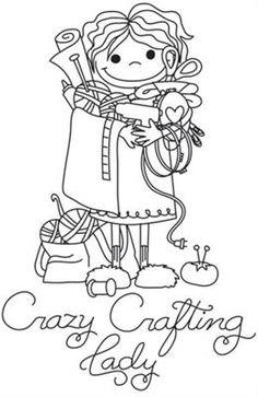 Crazy Crafting Lady_image