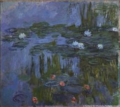 Claude Monet, Nymphéas (Waterlilies), 1914-15