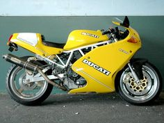 ducati 900ss yellow - Google Search