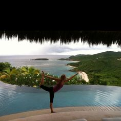The #Caribbean has great views and lovely settings to practice #yoga. Don´t miss the chance to take a #yogaholiday in one of the great places offered here www.yoga-on-holiday.com