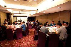 午餐提供精美佳餚,讓同仁能在溫飽的狀態下,精力充足的迎接下半場的會議。