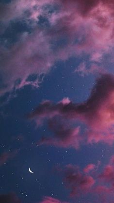 Night Sky Wallpaper, Tumblr Wallpaper, Screen Wallpaper, Nature Wallpaper, Wallpaper Backgrounds, Pretty Iphone Backgrounds, Moon And Stars Wallpaper, Cloud Wallpaper, Trippy Wallpaper