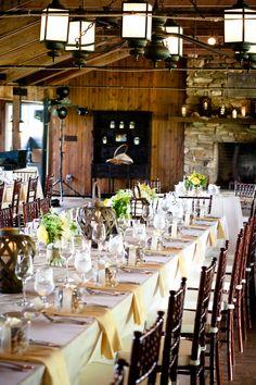 Virginia Country Wedding At Marriott Ranch - Rustic Wedding Chic Long Table Wedding, Farm Wedding, Rustic Wedding, Dream Wedding, Wedding Stuff, Wedding Table Decorations, Wedding Table Settings, Rustic Elegance, Rustic Chic