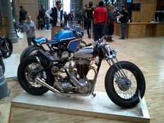 Triumph. The Bike Shed, 11 - 12 avril 2015.
