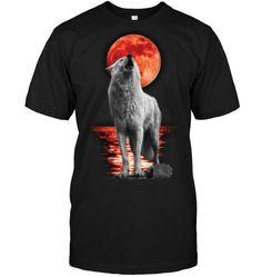 Wolf T Shirt, High Quality T Shirts, Mens Tops