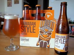 I was expecting more of a pineapple punch in Hawaiian Style Pale Ale from Spearhead Brewing Company Limited in Toronto, Ontario, but I can also appreciate its subtleness.