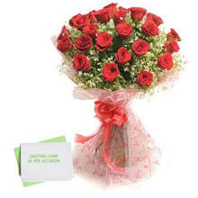 Check out our New Product Roses N Rasgulla No Flower COD Bunch of 25 Long Stem Red Roses with Cellophane wrapping and ribbon bow and Rasgulla Romantic Gifts For Wife, Best Gift For Girlfriend, Celebration Box, 25th Anniversary Gifts, Online Flower Delivery, Unusual Flowers, Birthday Gifts For Girlfriend, Flowers Online, Online Gifts