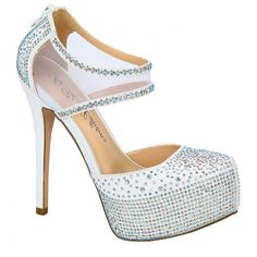 d70462b0eec5 Nelson-15 By De Blossom Collection  white  shoes  sparkle  formalshoes