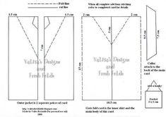 Mens Jacket card: Template & Printable Patterns - Splitcoaststampers:
