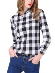 Cheap Womens Tops & Tees Wholesale - Walkingon -$8.38 Women stripe shirts wholeale is made high quality fabric, comfortable to wear. Stripe design with long sleeve tops tees show your various styles. Various of elegant and chic styles, fine workmanship, reasonable price. Stripe casual blouse wholesale is suitable for you to attend the party.