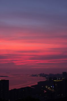 Sunset in Taiwan Night Aesthetic, City Aesthetic, Sunset Wallpaper, Scenery Wallpaper, Pretty Sky, Beautiful Sunset, Aesthetic Backgrounds, Aesthetic Wallpapers, Sunset Pictures