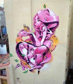 Isaac Mahow Amazing street art   #1300