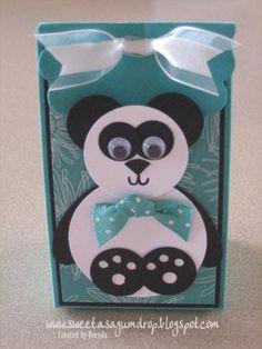 Panda Punch Art Favor