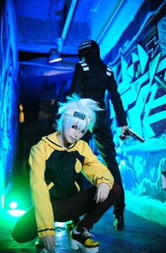 Soul Eater Evans, Soul Eater | Ikoya - WorldCosplay (great costumes but I especially love the pose idea!)
