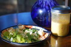 Healthy, homemade Caesar salad dressing #healthy #caeser #dressing