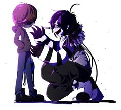 laughing jack x eyeless jack by pppsua- I don't ship them but it's cute so yea