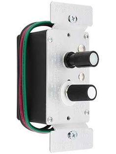 Nice Standard Single Pole Push Button Universal Dimmer Switch With Pearl Buttons  | House Of Antique
