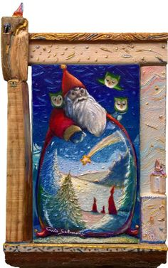 Buy SANTA CLAUS....IT'S ALWAYS MAGIC - ( Framed 3D Effect ), Mixed Media painting by Carlo Salomoni on Artfinder. Discover thousands of other original paintings, prints, sculptures and photography from independent artists.
