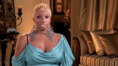 Nene, why are your earrings bigger than your face?