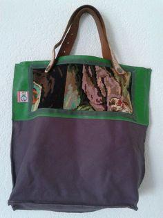 andreamania, tas met borduurwerk