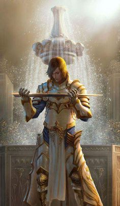 Cleric Light Holy Sacred Paladin Armor RPG RULES