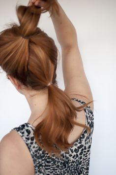 1 Trick Pony – How to make your ponytail look longer - Style Studio