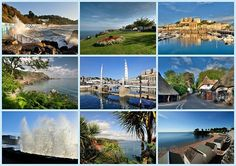 New Card 6 - Postcard views around Torquay - Greetings Cards Torquay (separate galleries for Meadfoot Beach and Cockington)