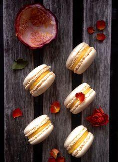 Macarons au fruit de la passion