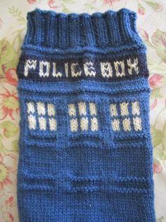 Police-Box-Socks Polizeisocken